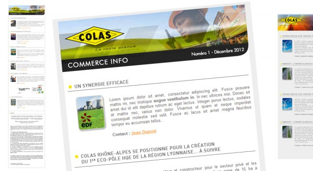 Colas Commerce Infos – Newsletter