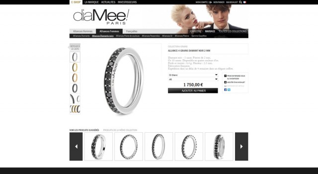 Diamee Paris – Online shop