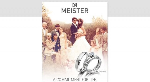 Meister Joaillerie – Landing page