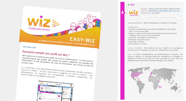 Colas Easy Wiz – Newsletter