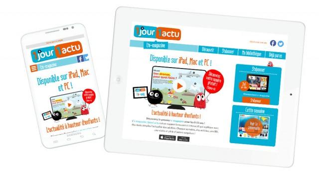 1Jour1Actu – Site responsive