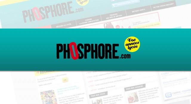 Phosphore magazine – Site web