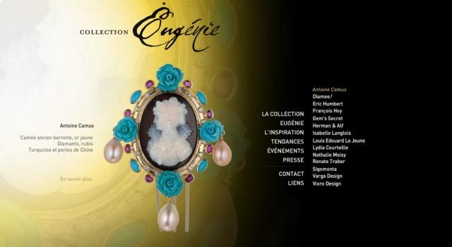 Site Flash – Collection Eugénie