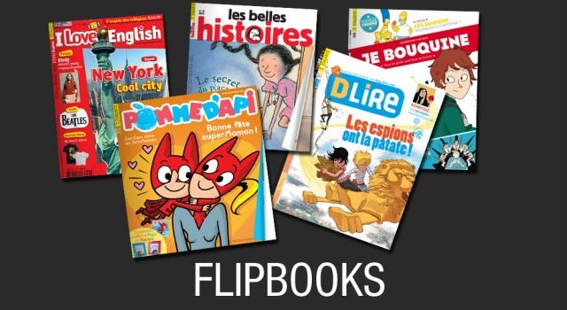 Bayard Jeunesse – Flipbooks