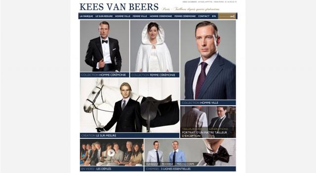 Kees Van Beers – Site web