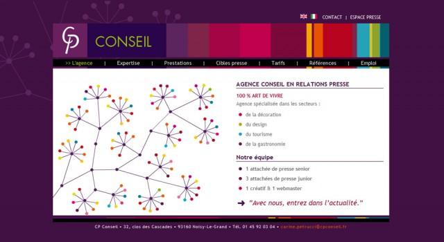 CP Conseil – Site web