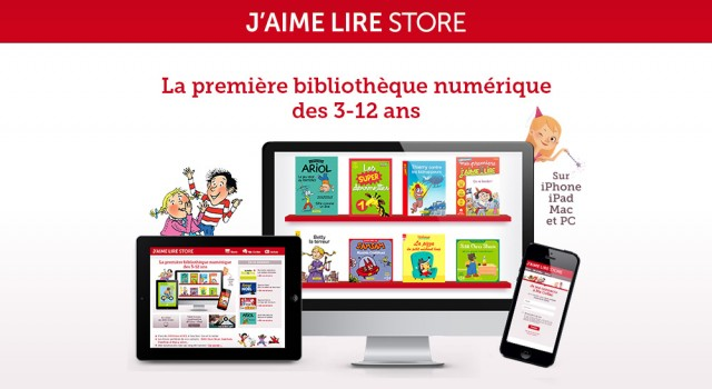 J'aime lire Store – Site responsive
