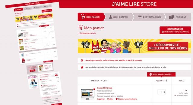 J'aime Lire Store – Online shop
