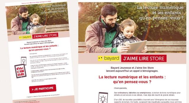 Bayard Jeunesse – Emailing